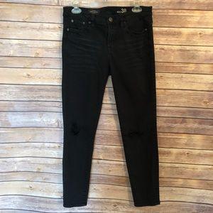 J Crew // Toothpick Skinny Ankle Jeans